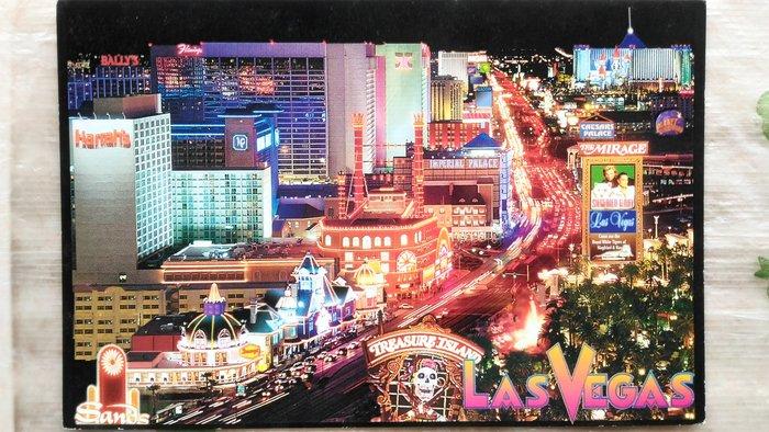 明信片1  The world famous Las Vegas ' Strip '  Las Vegas,Nevada