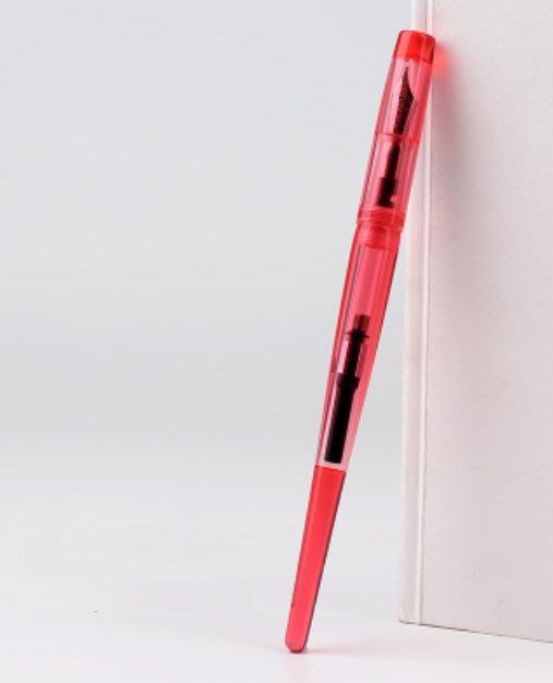 ☆艾力客生活工坊☆N-077 中國鋼筆論壇Penbbs 267 旋轉吸墨 鋼筆 藝術鋼筆(0.5F)15色-草莓