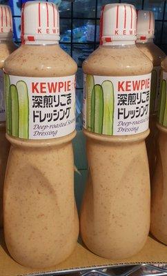 日本 KEWPIE 深煎胡麻醬 1000ml 到期日2020/11/11 頁面是單瓶價 bcb~bei