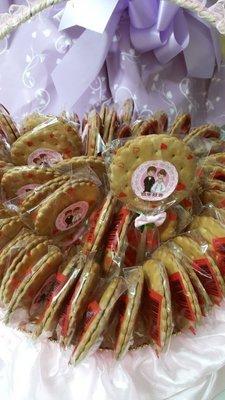 幸福瑀瑀婚禮小物 佈置企劃   二次進場 送客禮 幼稚園 古早味麥芽糖50隻 優惠一桶599元