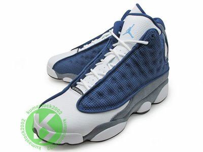 NIKE AIR JORDAN 13 RETRO GS FLINT 大童 女鞋 OG 配色 深藍白 884129-404