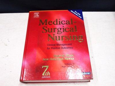 【考試院二手書】《Medical-Surgical Nursing 7th》│Joyce M│七成新 (B11Z72)