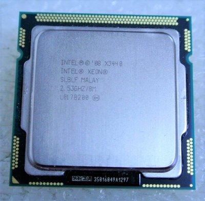 ~ 駿朋電腦 ~ Intel Xeon X3440 2.53GHz/8M 1156腳位CPU $600