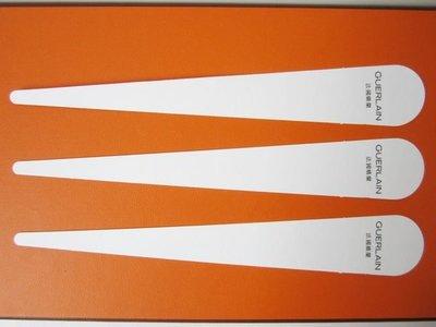 法國頂級保養品牌【GUERLAIN】嬌蘭 長條形 香水 試香紙卡 每張$10 保證全新正品/真品