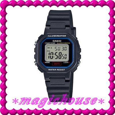 *夢幻精品屋*CASIO原廠公司貨~10年電池 兒童,學生防水復古電子錶 LA-20WH-1C