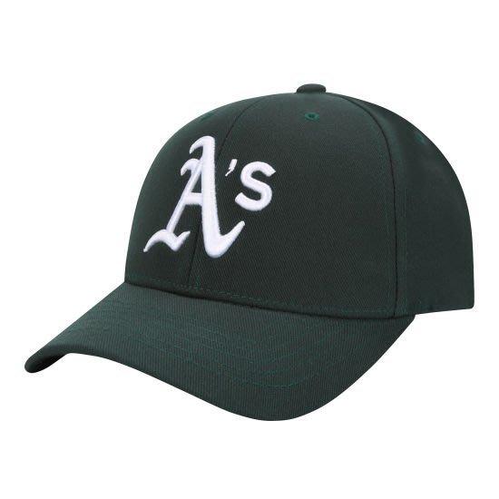 現貨特價【韓Lin代購】韓國 MLB -- 運動家綠色棒球帽CP07 AUTHENTIC CURVE 32CP07861