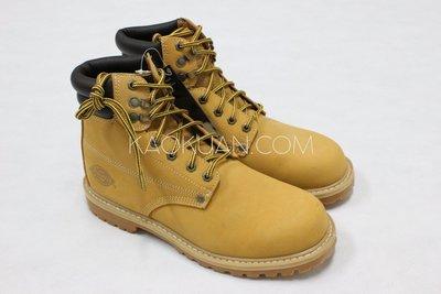【高冠國際】Dickies DW7014 Men's Trader Work Boots 黃靴 靴子