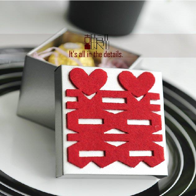 衣萊時尚-熱賣款  喜糖盒子 馬口鐵個性創意歐式結婚婚禮糖果盒T-2