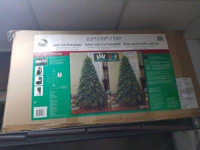 全新 LED聖誕樹附無線遙控器 7.5呎 #955085