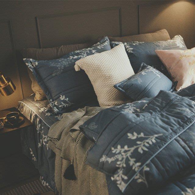 MIT精梳棉-床罩組/雙人【暮色格拉茲】(5件式)絲薇諾