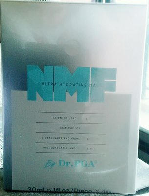 ♡Aaliyan艾莉亞♡  溫士頓 Dr.PGA NMF 超導保濕面膜 ( 10片 / 盒裝 ) 公司貨