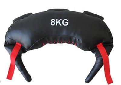 【奇滿來】8KG牛角包 保加利亞訓練袋 重量訓練 核心肌群 瘦身 健身 負重袋 深蹲訓練 爆發力 健身房 AAOI