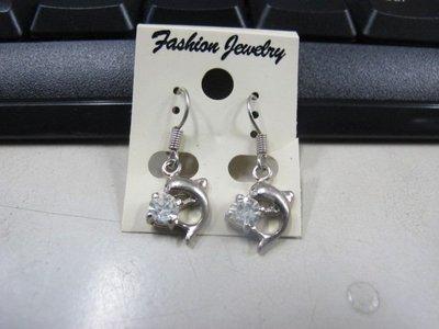 二手舖 NO.4516 時尚造型耳環 耳針 耳鉤 便宜賣 首飾飾品