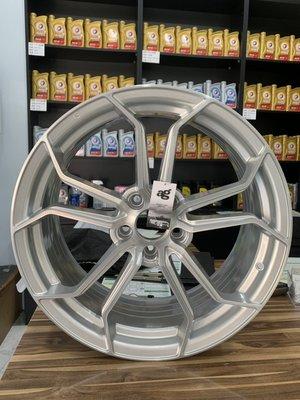 CR輪業 全新 正美國 AG M632 20吋 旋壓輕量化鋁圈 髮絲銀 5/114 5/112