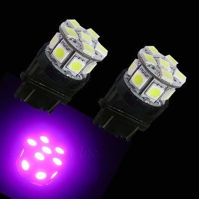 【PA LED】迷你型 3157 3156 美規車 13晶 39晶體 SMD LED 紫光 粉紫 方向燈 倒車燈 煞車燈