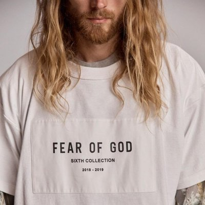 Fear Of God FOG 6th Collection 短袖 Tee