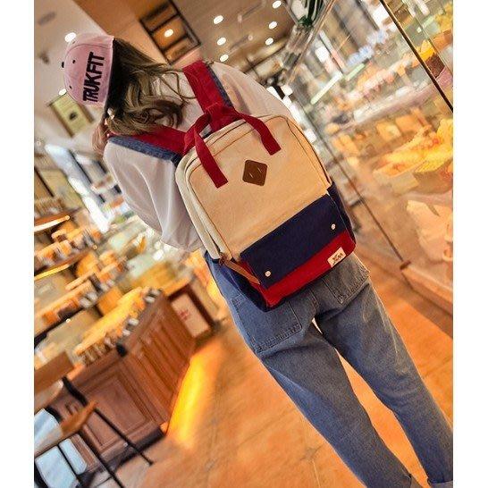 [現貨當天寄出]日本原宿風後背包 學院清新風格背包書包後肩包生日禮物交換禮物