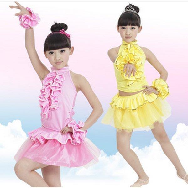 5Cgo 【鴿樓】含稅會員有優惠 38777992216 小學生舞蹈服練功服少兒演出服裝舞蹈女童跳舞衣服幼兒拉丁服