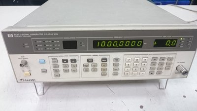 【攸仕得儀器】HP 8657A Synthesized Signal Generator, 100 kHz to 104