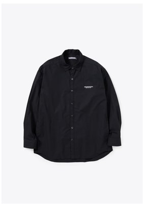 NEIGHBORHOOD TRAD / C-SHIRT . LS 口袋素面長袖襯衫211SPNH-SHM01。太陽選物社