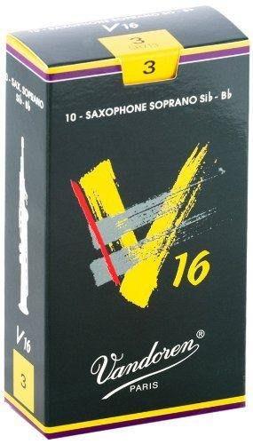 【現代樂器】法國真空包裝 Vandoren V16 高音薩克斯風 Soprano Saxophone 3號竹片