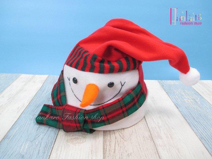 ☆[Hankaro]☆電動搖擺雪人造型聖誕帽