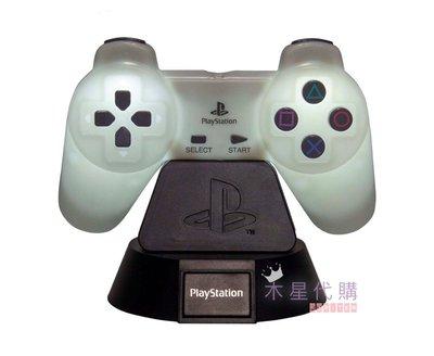 【木星代購】《英美代購 Playstation PS4 手把 造型 夜燈 預購》小孩可愛設計床頭檯燈復古流行趣味遊戲機