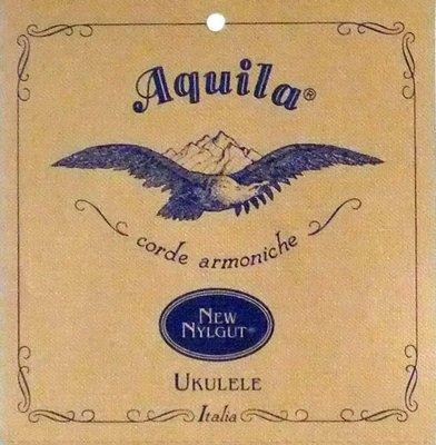 【音和樂器】Aquila烏克麗麗弦,Nylgut,手工尼龍羊腸合成弦;穩定性高、音色溫和