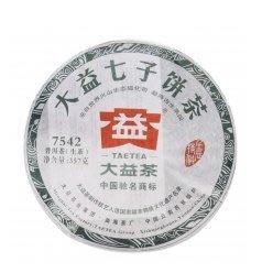 普洱茶 大益 勐海茶廠 2012年 7542  203批次 357克/餅