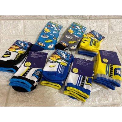 現貨 日本製 三麗鷗 新幹線  KAMEYAMA 棉襪 襪子 童襪 短襪 中筒襪 火車襪 14-19CM