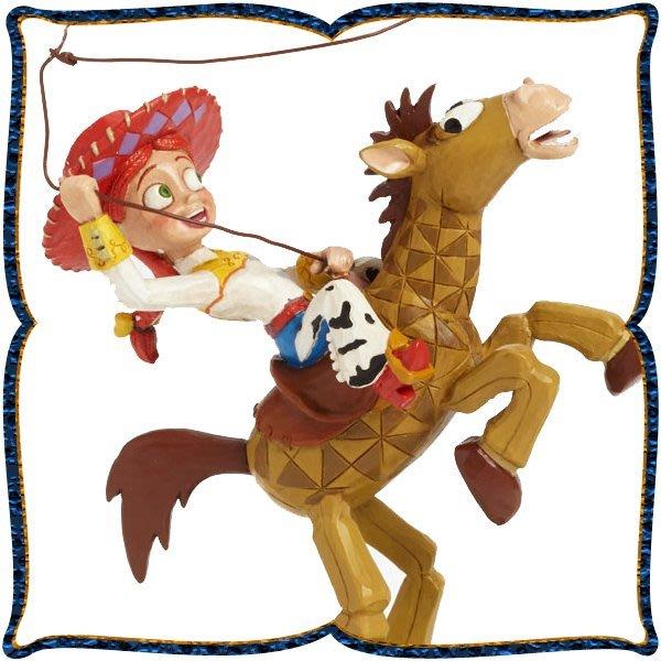 ♥心樂格格♥♫Disney Traditions  迪士尼 [玩具總動員 翠絲 木雕風景品 模型 禮品]全新美版稀有品~