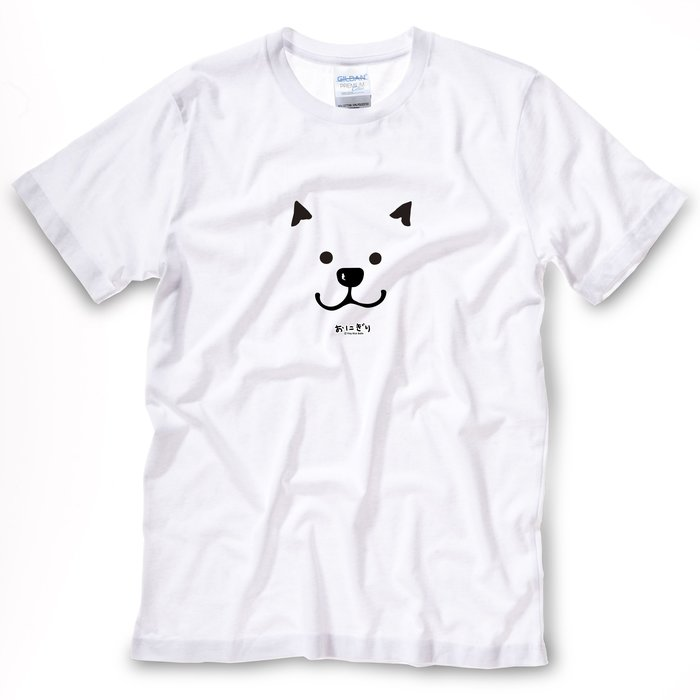 小飯糰 中性T恤 柴柴T FACE