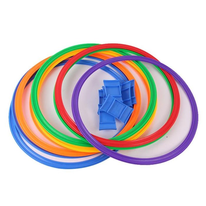 親子玩具 戶外休閒 戶外玩具 幼兒園跳房子圈圈格子游戲兒童體能感統訓練器材鍛煉平衡戶外運動【移動雜貨鋪】