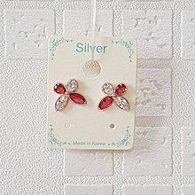 【閃亮芝蘭】 0108 新到商品 耳環 正韓 飾品 針式 銀針 (玫瑰金) 現貨