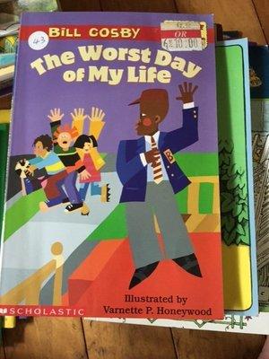 二手英文童書 bill cosby the worst day of my life 43