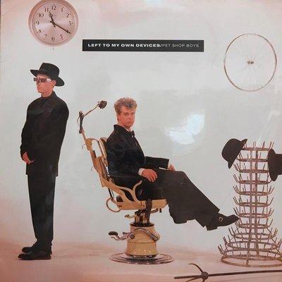 (美版) Pet Shop Boys – Left To My Own Devices (33 轉) 12吋單曲)