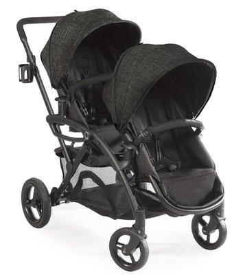 代購Contours Options Elite Tandem黑色推車加雨罩x2+蚊帳x2+護頸枕x2訂金