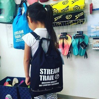 日本Stream Trail最新AMPHIBIAN系列羽量型防水後背包Breathable Tube Black M黑色