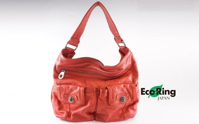 [EcoRing]*Marc by Marc Jacobs Shoulder Bag Coral Leather*Rank B-197023087-