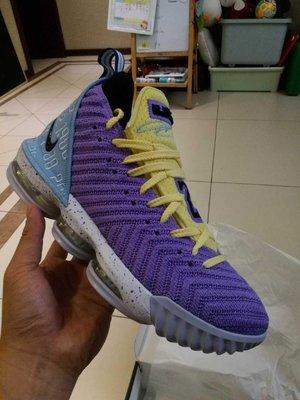 現貨~Nike LeBron 16 Lakers Championships CK4765-500 湖人 紫色 LBJ