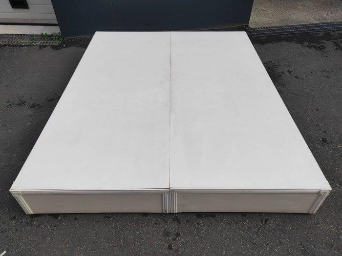 非凡二手家具 白色5尺床箱*床架*床底*二手雙人床*寢具*床組*床箱