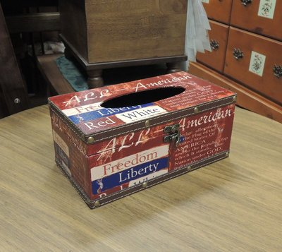 仿舊工業風面紙盒套 工業風LOFT面紙盒 報紙印刷面紙盒 紅色面紙盒 抽取式衛生紙盒 人造皮革面紙盒 硬殼面紙盒