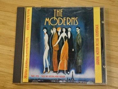 《啟元唱片》電影原聲帶 O.S.T. MODERNS [T] 輕微細紋 英國版