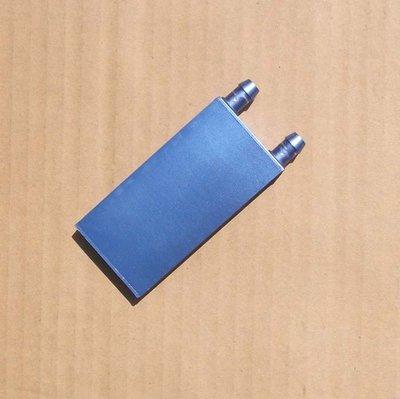 【玩具貓窩】40*80*12mm鋁製水冷頭 致冷晶片專用水冷頭 致冷片 液冷水板 昆蟲箱