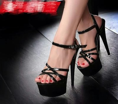大碼涼鞋 特價 防水台 高跟鞋 性感表演鞋 show gril 用鞋 貨號8902210