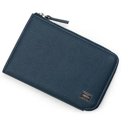 『小胖吉田包』藍色預購 日標 PORTER CURRENT 零錢包/皮革製(B款) ◎052-02216◎免運費!