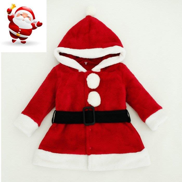 可愛《聖誕造型款》珊瑚絨 連帽外套