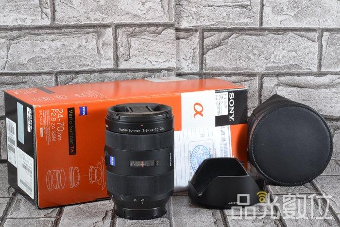 【品光數位】Sony Vario-Sonnar T* 24-70mm F2.8 ZA SSM 公司貨 #61149B