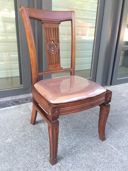 高品質*歐式古典實木椅*台灣製(套房/民宿/學生/餐椅/電腦椅/化妝椅)[布拉格家居]