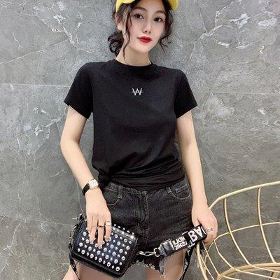 ❤Princess x Shop❤純棉洋氣刺繡時尚短袖T恤TM15-39-18韓國同款
